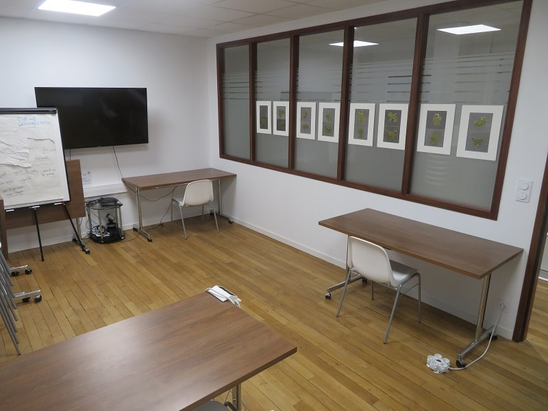 salle de réunion Estran Saint Briac confinement